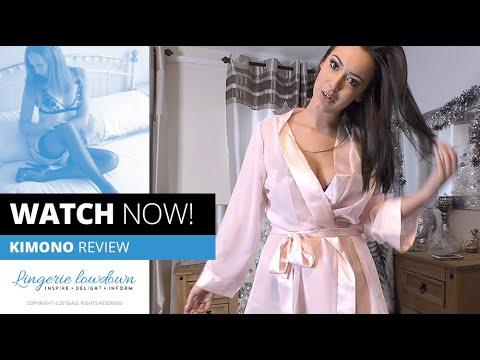 Xxx Mp4 REVIEW ONLY Lauren Louise Reviews BlueBella Chiffon Kimono 3gp Sex