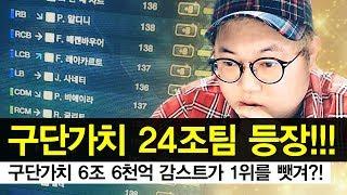 피파3 감스트 : 구단가치 24조팀 등장!!! 구단가치 6조 6천억 감스트가 1위를 뺏겨?!!