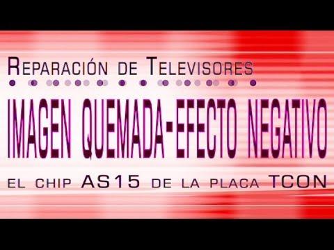 Televisión:   TCON   AS15   Imagen Quemada o Efecto Negativo