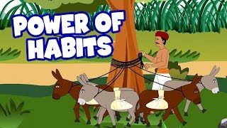 Power of Habit - English Stories For Kids | Moral Stories In English | Short Story In English