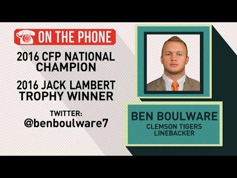 Gottlieb Ben Boulware talks Clemson win