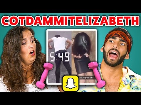 Xxx Mp4 Adults React To Cot Dammit Elizabeth Snapchat Compilation 3gp Sex