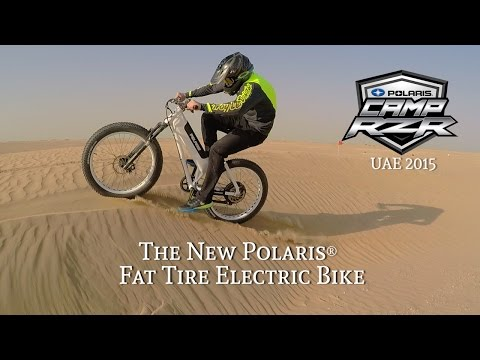 Camp RZR in Dubai with POLARIS® Electric Bikes