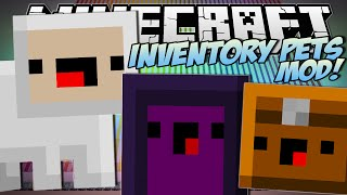 Minecraft | INVENTORY PETS MOD!! (Summon Lightning, EXPLODE & More!) | Mod Showcase