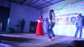 Actrees Nasrin Performed In   Monpura Park