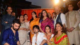 Jackie Shroff, Shraddha Kapoor & Others At Pandit Pandharinath Kolhapure Marg Inauguration