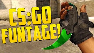 THE FUNTAGE! - CS GO Funny Moments in Competitive