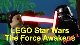 LegoGraphic Films | Star Wars The Force Awakens: Part 2: Rey & Fin