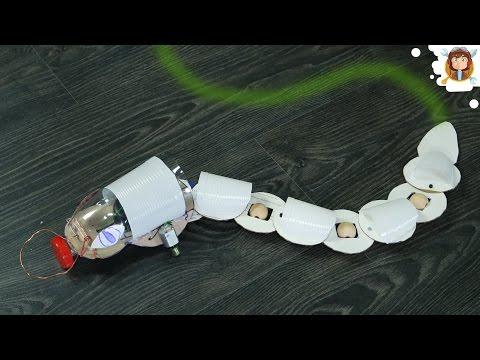 Como fazer uma Cobra Robô Desvia de Obstáculos
