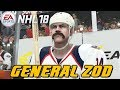 NHL 18 - Be A Pro - GENERAL ZOD RETURNS ep. 1