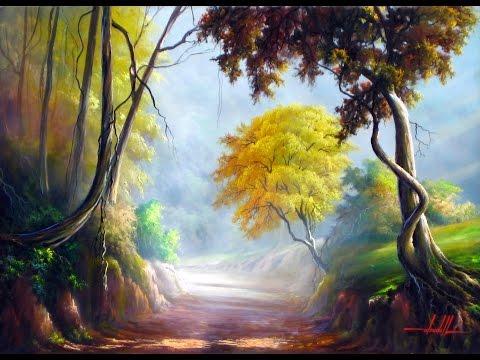 Pinturas de paisagens caminhos e rios de Minas Gerais HD 720p