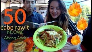 #2 MUKBANG - Coba Indomie Abang Adek Level Pedas Garuk (50 Cabe Rawit)   Bahasa Indonesia