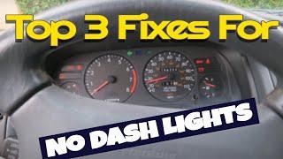 No Light in car dash? Top 4 things you can do to fix DIY
