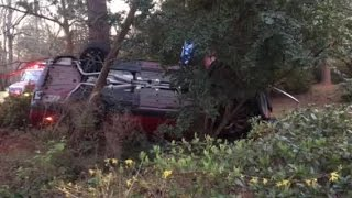 Crash on Willow Wood Drive