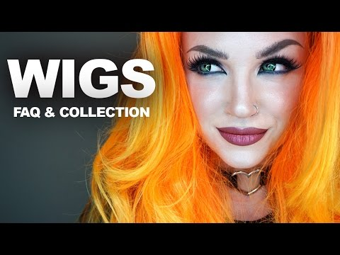 WIGS: how to put them on, FAQ, where to get them, my collection