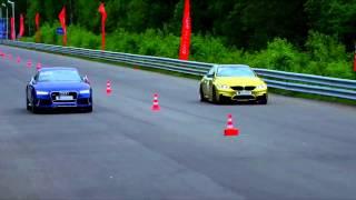 BMW M4 vs Audi RS7 (Drag Race)