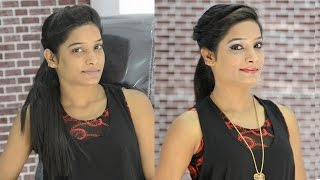 Instant makeup for western theme in HINDI : instant party makeup: how to do makeup for party