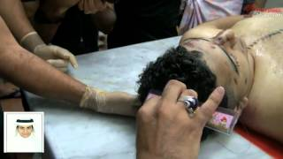 Processing funeral of the martyr Muhammad September 30 2012 Qatif eastern Saudi Arabia