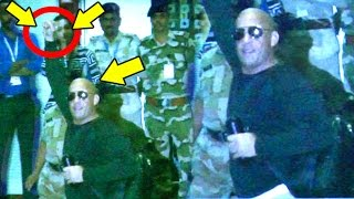 Reporter Calls Vin Diesel Takla (Bald) - What He Does Next Will Blow Your Mind