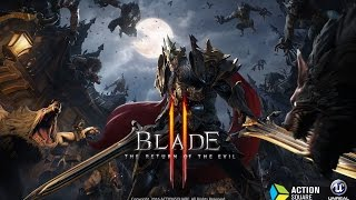 BLADE2 Gameplay Playable Characters 2nd Trailer (블레이드2)