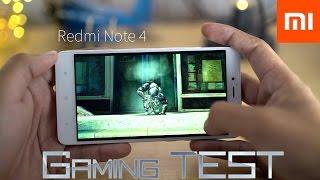 Xiaomi Redmi Note 4 - Gaming Test