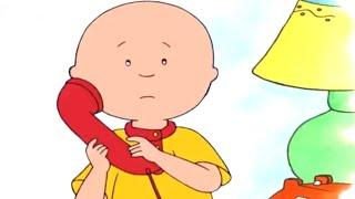 Caillou | Caillou calls his friends | Cartoons for Children | cartoon movie