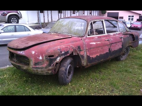 Tatra 603 renovace