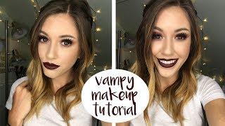 Vampy Makeup Tutorial ♡ 2017