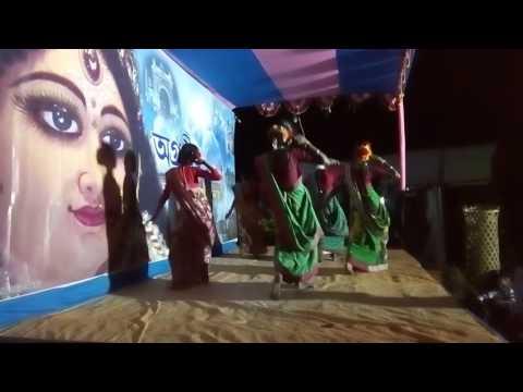 Rare Santhali Dance in Durga Puja 2016