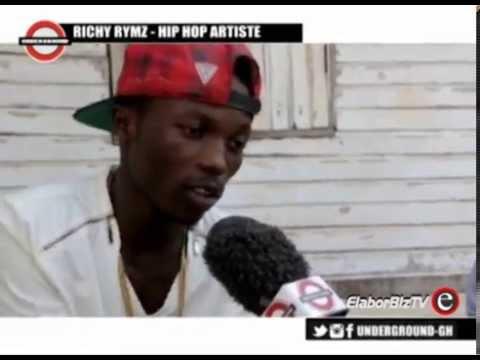 Hot GH. Rapper Richy Rymz Interviewed on Underground TV