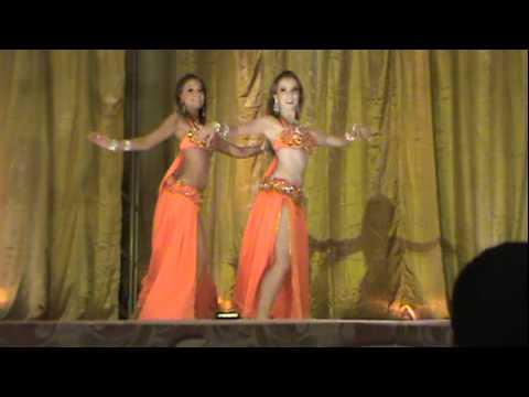 Hadara Nur e Bia Fernandes Dupla Campeã do Mercado Persa 2011