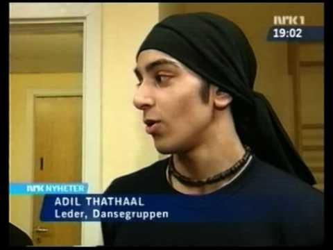 Adil Khan on Dagsrevyen back in the days :)