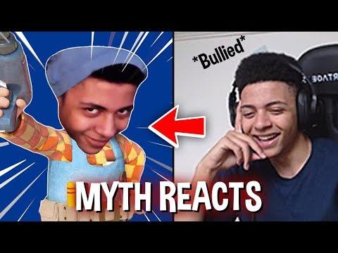 Myth reacts to Myth is Tricky Fortnite