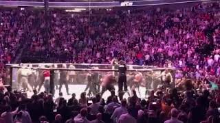 McGregor Khabib SCARY BRAWL / ALL ANGLES / UFC 229
