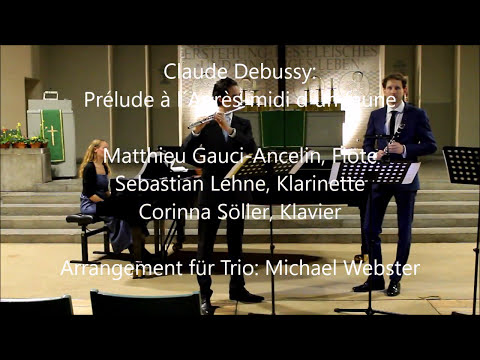 Xxx Mp4 Claude Debussy Prélude à L´Après Midi D´un Faune Trio Flute Clarinet Piano 3gp Sex