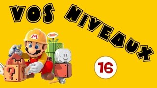 Super Mario Maker - Episode 16   Entre terre, ciel et mer !