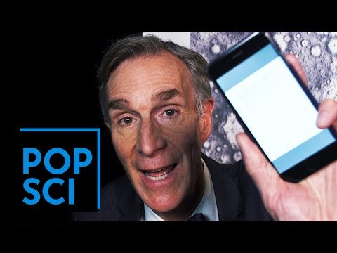 Bill Nye Responds to Anti Science Tweets