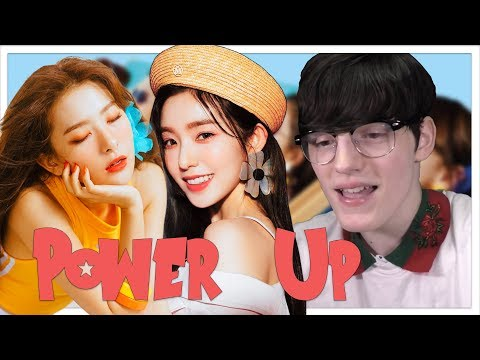 Red Velvet 레드벨벳 'Power Up' MV Reaction!!