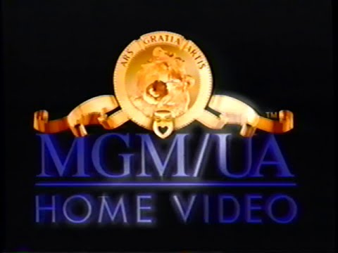 MGM UA Home Videos 1997 Company Logo 2 VHS Capture