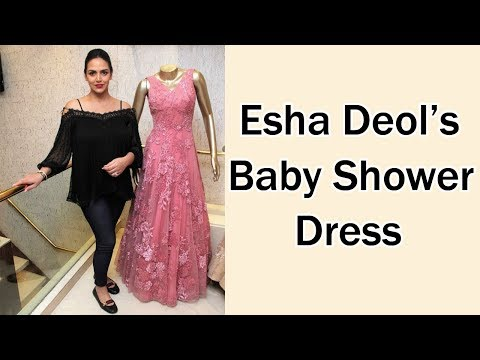 PREGNANT Esha Deol Buys Baby Shower Dress From Neeta Lulla's Shop