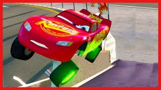 Lightning McQueen and Friends Airport Race! Cars 3 Driven to Win