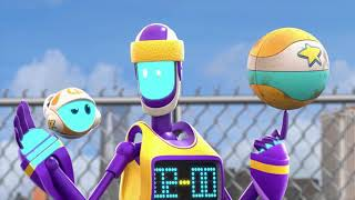 Space Ranger Roger | Unstoppable Basket Ball Bot | Cartoons For Children | Cartoons For Kids