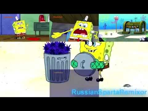 Russian Collab Spongebob Your Free Sparta XYTH Chaos Remix