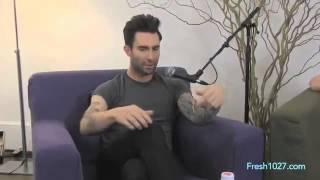 Adam Levine - Fuck you, Grammy crasher!