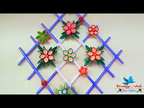 DIY Paper Quilling Wall Hangers for Room Decoration | Paper Quilling Art |