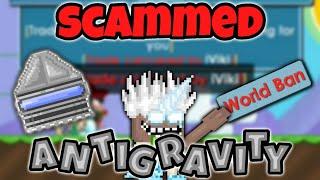 Growtopia | SCAMMED Antigravity Generator *prank*