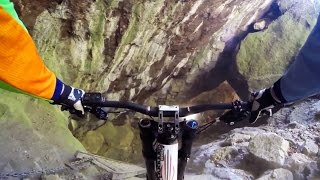 Downhill MTB Through an Abandoned Mine - Through My Eyes w/ Aaron Chase