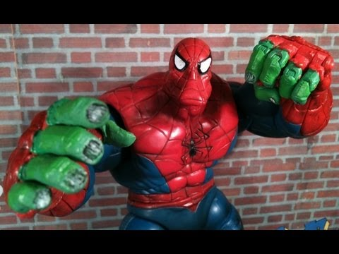 Spider Man Classics Spider Hulk Review