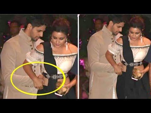 Xxx Mp4 Sidharth Malhotra SAVES Parineeti Chopra From Embarrassing Moment At Akash Ambani S Engagement Party 3gp Sex