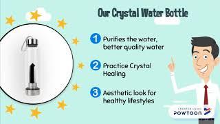 What is crystal elixir | Crystal Water Bottle | Gemstone Water